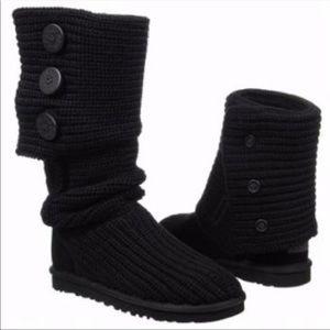Ugg women's black boots